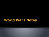 Causes of WWI - MANIA