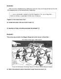 Causes of WWI (MANIA) Inquiry DBQ & Cloze Activity