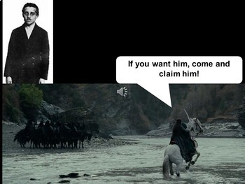 The Lord of the Rings Causes of WWI Powerpoint & Notes