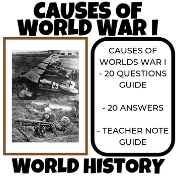 Causes of WWI Video Guide