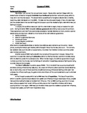 Causes of WWI Worksheet