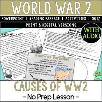 World War 2 Causes, World War II, WW2, WWII by Heather ...