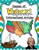 Causes of Westward Expansion Informational Articles