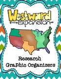 Causes of Westward Expansion Research Graphic Organizers