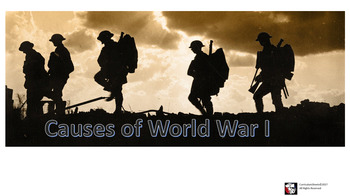 Honors World History Causes of World War I-Bundle
