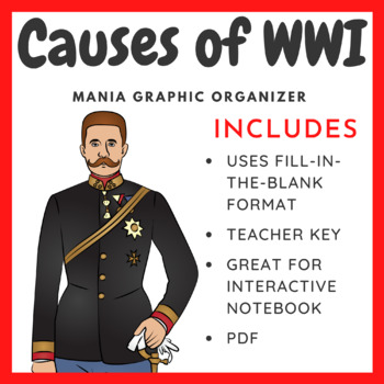 Causes of World War 1: Grap... by William Pulgarin | Teachers Pay ...