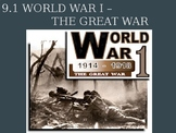 Causes of World War I Powerpoint (Global History)