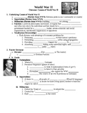 Causes of World War II Guided PowerPoint Lecture