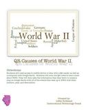 Causes of World War II QR Activity