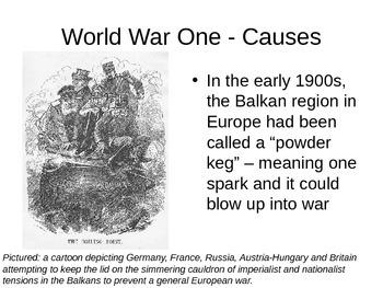 World War One Causes