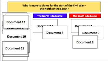 Causes of the American Civil War (LP + Docs + PPT + Chart)