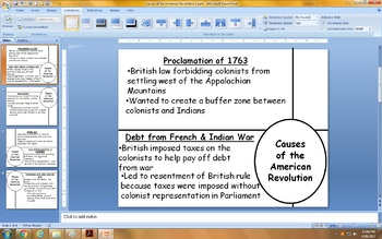 Causes of the American Revolution - STAAR Social Studies