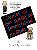 Causes of the American Revolution Journal