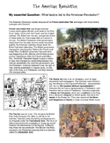 Causes of the American Revolution - Cause and Effect