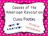 Causes of the American Revolution Class Posters, Teaching