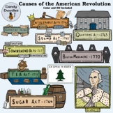 Causes of the American Revolution Clip Art