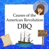 Causes of the American Revolution DBQ - 4th Grade Louisian