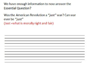 Causes of the American Revolution Domino Effect