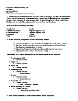 causes of american revolution worksheets teaching resources  causes of the american revolution essay causes of the american revolution essay