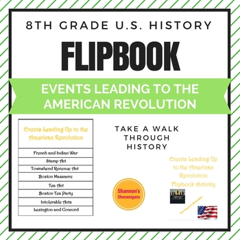 Causes of the American Revolution Flipbook