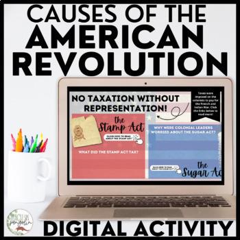 American Revolution Google Classroom Activity