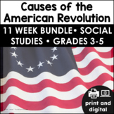Causes of the American Revolution Google Classroom™ | Distance Learning BUNDLE