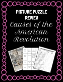 Causes of the American Revolution Picture Puzzle Test Revi