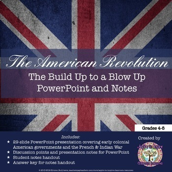 Causes of the American Revolution PowerPoint Bundle