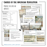 Causes of the American Revolution | Print and Digital