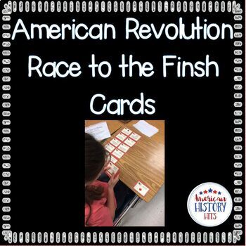 Causes of the American Revolution Race Cards