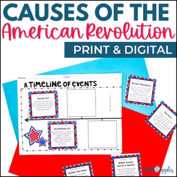 American Revolution Worksheets Teaching Resources TpT