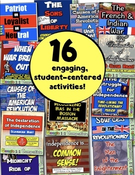 Revolutionary War Causes: 16 Engaging Lessons for the American Revolution!