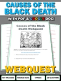 Causes of the Black Death - Webquest with Key (Google Doc Included)