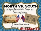 Causes of the Civil War: Analyzing Primary and Secondary Sources