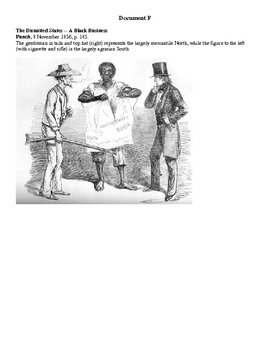 Causes of the Civil War DBQ