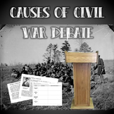 Causes of the Civil War Debate