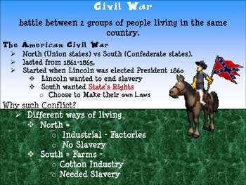 Causes of the Civil War - PResentation