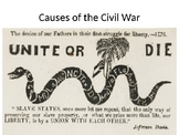 Causes of the Civil War Part One
