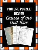 Causes of the Civil War Picture Puzzle Review - Literacy C