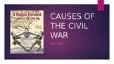 Causes of the Civil War PowerPoint and Assignments