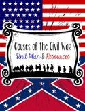 Civil War Causes Bundle