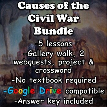 Causes of the Civil War Unit