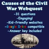 Causes of the Civil War Webquest