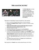 What were the cause of the Cold War? 8-page lesson pack