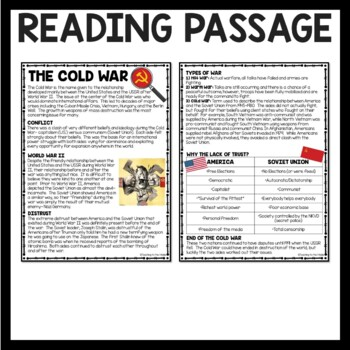 an analysis on the events of cold war Infact, cold war is a kind of verbal war which is fought through newspapers, magazines, radio and other propaganda methods it is a propaganda to which a great power resorts against the other power it is a sort of diplomatic war.
