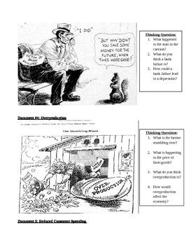 Causes of the Depression - DBQ