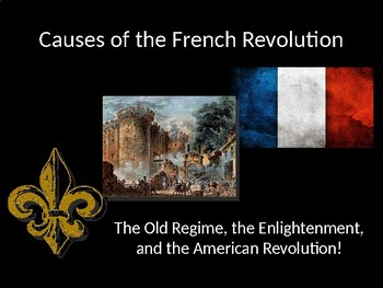 Causes of the French Revolution: Part 1