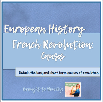 what were the short term causes of the french revolution