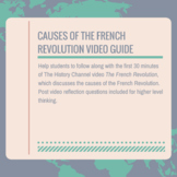 Causes of the French Revolution Video Guide