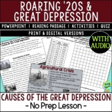Causes of the Great Depression, American Great Depression Causes